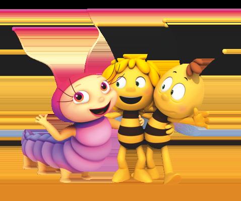 Abeja Maya y sus amigos